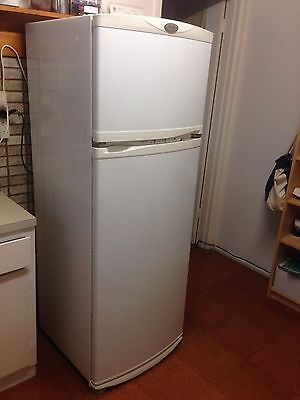White 324L Whirlpool Fridge/freezer WBM35MN Excellent Condition