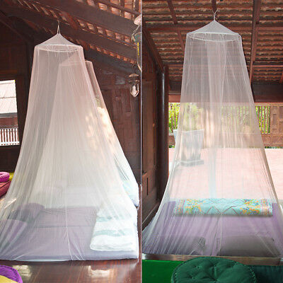 Mosquito Net Insect Protection Double King Size Bed Dome Canopy Ceiling Netting