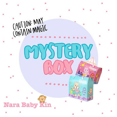 Baby Box | A Lucky Dip Surprise : a collection of Baby Shower Gifts (5 items)