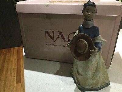 """Nao by Lladro """"Young Fall"""" figurine"""