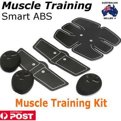 EMS Muscle Training Smart ABS Six Pad Gear Exercise body Shape Fitness Massage