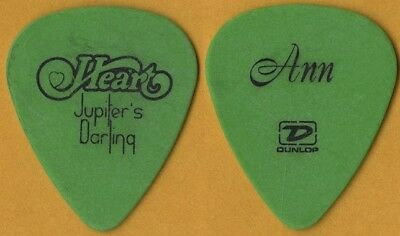 Heart Ann Wilson authentic 2004 Jupiters Darling tour real band Guitar Pick