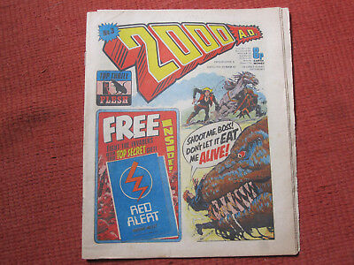 2000 AD Prog 3. 1 page missing. Signed by Gibbons & Esquerra!