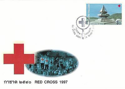 Red Cross 1997 Thailand FDC