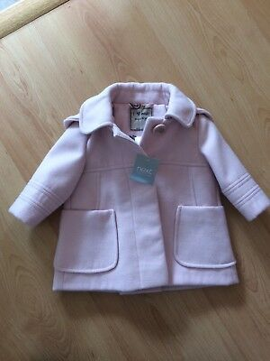 Next Girls Coat 3-6 months