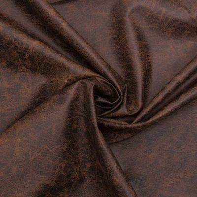 """recycled Leather "" Genuine Distressed Chocolate Aged Brown Upholstery Fabric"