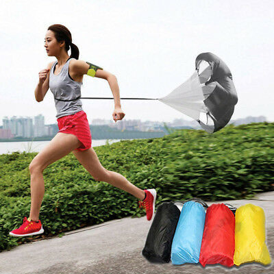 FT- Speed Training Resistance Parachute Sprint Running Chute Football Soccer Eye