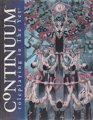 Continuum - Roleplaying in the Yet (livre de base)