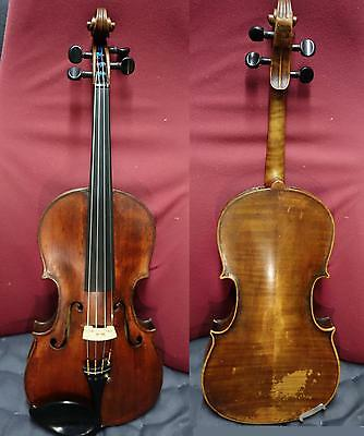 4/4 Conservatory Old Fine Violin - Exceptional Tone Ready to play Larsen Video