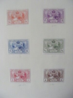 Madrid stamps Mint hinged