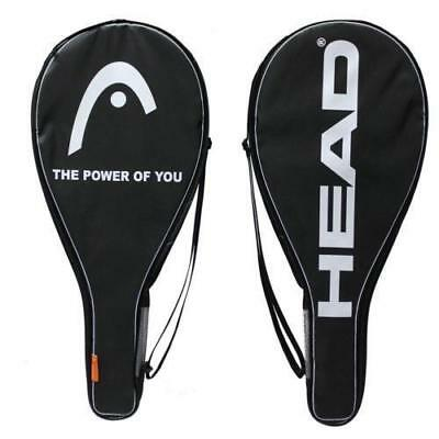 Head Racket Cover Tennis Bag WITH STRAP HOLDS 1 RACKET FREE POST UK.