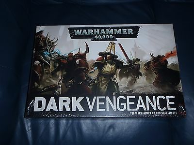 "Warhammer 40K ""Dark Vengeance"" Starter Set -   ** NEW + SEALED **"