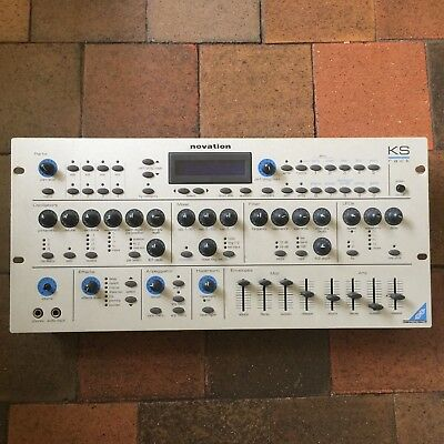 Vintage Novation KS4 Rack Mount Synthesiser Synth