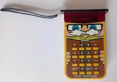 Little Professor Calculator Electronic Calculator Texas Instruments Vintage Toy