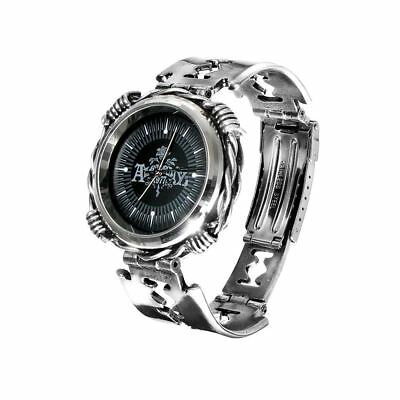 Alchemy Gothic (Metal-Wear) Razhora Pewter Watch BRAND NEW