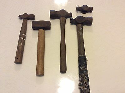 Vintage Lot Of 5  Hammers