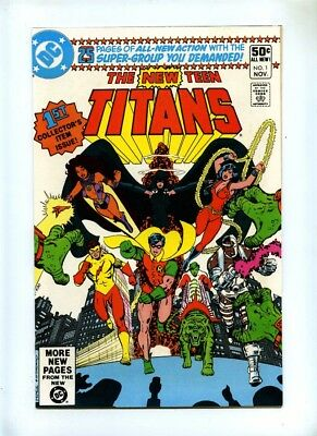 New Teen Titans #1 to #40 + Annual #1 to #3 - Complete Set Incl 1st Deathstroke