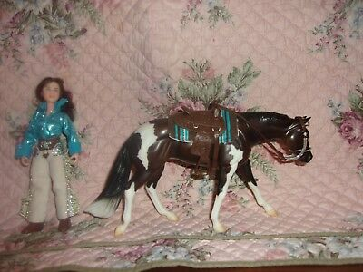 breyer horse classic horse and doll