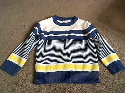 Lovely Boys Stripe Jumper Size 1 1/2-2 Years