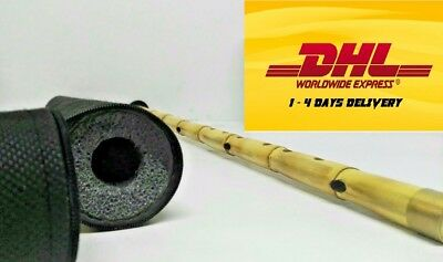 Turkish Woodwind  Ney Sufism Flute Natural Bamboo Reed *High Quality* (Kiz Si-B)