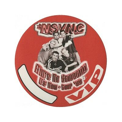 NSYNC Authentic 1999 Ain't No Stopping Now Tour Backstage Pass Justin Timberlake