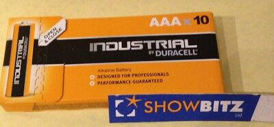 Batteries Duracell Industrial AAA formerly Procell Box 10 1.5Volt  LR03