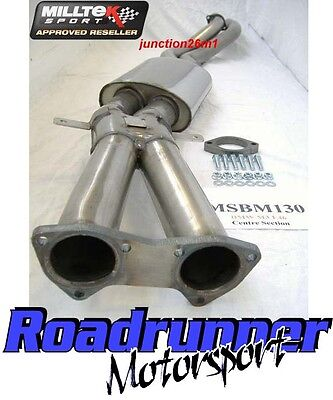Milltek BMW M3 E46 Stainless Exhaust Centre Section Box (01-07) Coupe MSBM130