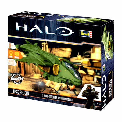 REVELL UNSC HALO Pelican 1:100 Snap Action Model Kit - 00061