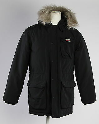 New With Tags Men's PENFIELD Black Cotton Blend Parka Jacket Size M