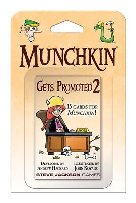 Munchkin Gets Promoted 2 Booster (englisch)