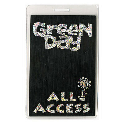 Green Day authentic 1995 concert Laminated Backstage Pass Insomniac Tour AA