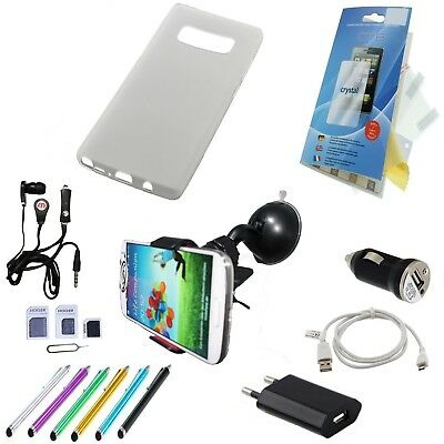 20 Teile Samsung Galaxy Note 8 Zubehör set pacet|pack|Folie Silikonhülle Cover