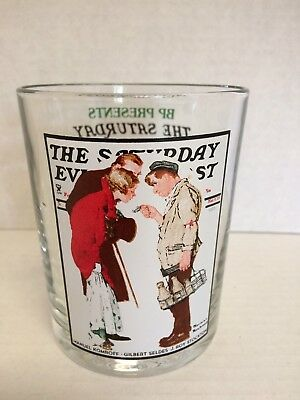 """Norman Rockwell The Saturday Evening Post Glassware """"the Partygoers"""""""