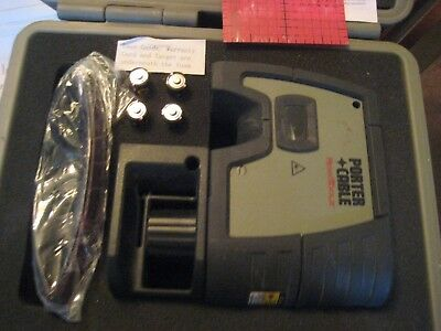 Porter Cable Rt-7610-5 Self Leveling 5-Beam Square & Plumb Laser Level