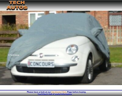 Fiat 500 New (Not Abarth) Car Cover Indoor Dust Cover Breathable Horizon