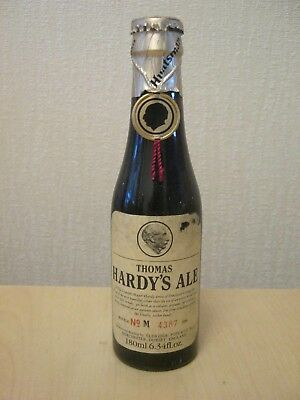 Unopened Collectable Bottle. Thomas Hardy's Ale 1984.