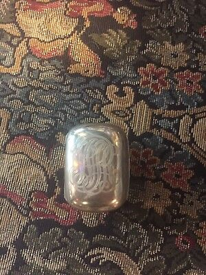 Sterling Silver Travel Soap Box