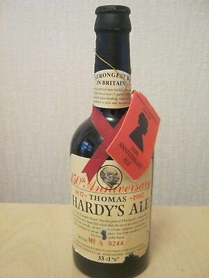 Unopened Collectable Bottle. Thomas Hardy's Ale 1987.