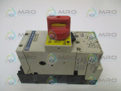 TELEMECANIQUE LD4-LC030 w/ LB1-LC03M07 MOTOR STARTER 100V (AS PICTURED) *USED*