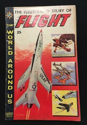 The World Around Us #8: The Illustrated Story of Flight (April 1959)