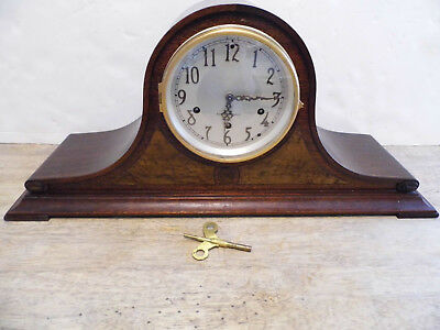 Seth Thomas Mantle Chime 8 Day Clock  With No.124 Movement For Parts Repair