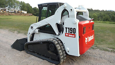 2008 Bobcat T190 Skid Steer, Ac, Heat, High Flow