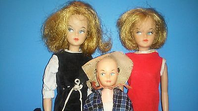 Vintage 1960's Tressy & Cricket Doll Group Plus extras