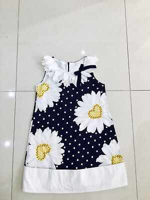 Monnalisa Daisy Dress Age 9