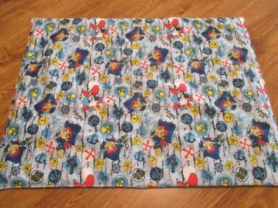 NEW Flannel Dinosaur & Cotton Pirate Prints Handmade Quilted Baby Change Pad
