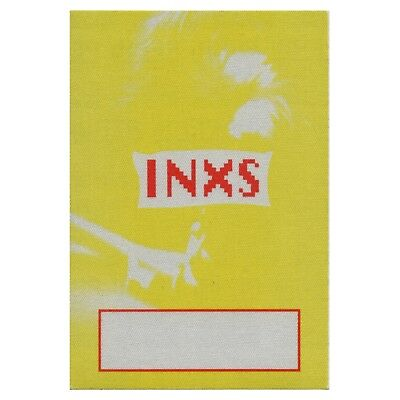 INXS authentic 1992-93 tour Backstage Pass