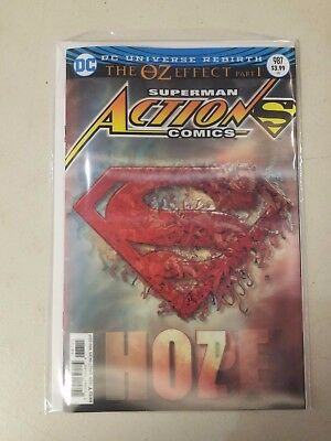Superman Action Comics #987 Lenticular 3D Cover DC 2017 VF-NM