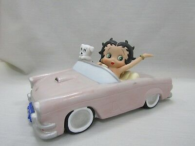 San Francisco Music Box Company Betty Boop Side by Side Musical Box Car