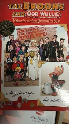 The Broons and Oor Wullie annual