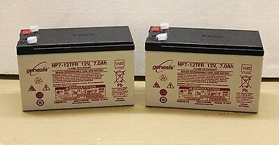 Acorn Superglide 120 Stairlift replacement Batteries - TWO Batteries - 1 YR WTY